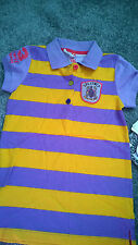 Little Miss Matched Polo Shirt Size Medium (Approx Age 7) NWT