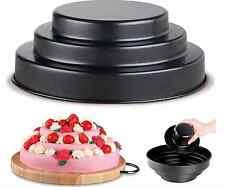 New  3 Tier Baking Bake Fill Cake Pan Tin With Filler Insert Non Stick Mould