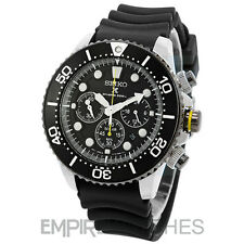 *NEW* SEIKO PROSPEX SOLAR CHRONOGRAPH DIVERS 200M WATCH - SSC021P1 - RRP £259