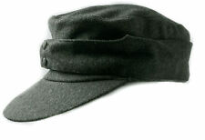 WWII GERMAN WH EM M43 PANZER WOOL FIELD CAP SIZE XL-35774