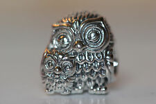 AUTHENTIC NEW PANDORA FALL 2016 CHARMING OWLS CHARM 791966 S925 ALE STERLING