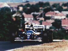 1994 FORMULA 1 ROTHMANS WILLIAMS RENAULT DAMON HILL HUNGARIAN GRAND PRIX PHOTO