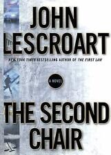 The Second Chair by John Lescroart (2004, Hardcover / Dust Jacket) signed 1st/1