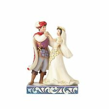 Disney Jim Shore Figurine NEW 2017 Snow White and Prince Wedding  NIB #4056747