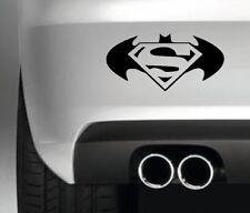 SUPER BAT  FUNNY CAR BUMPER STICKER FUNNY DRIFT JDM bat man super man