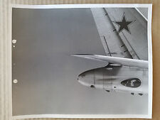 ORIGINAL USAF PHOTO - SOVIET TU-95 BEAR TAIL VIEW - NICE PHOTO