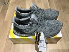 Adidas Ultra Boost 3.0 Silver Gris Negro. nuevo Superbowl UK 9 BA8143