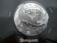 Harley Davidson Live to Ride Tankdeckel Medallion chrom  99020-86T