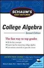 Schaum's Easy Outline of College Algebra, Second Edition (Schaum's Eas-ExLibrary