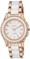 DKNY Women's NY8821 'Classic' Two-Tone Ceramic Watch
