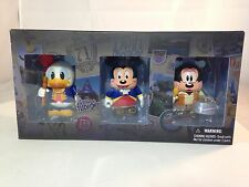 Disney Vinylmation Park 7 America On Parade 3 Pack Mickey Donald Goofy NIB-
