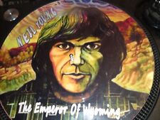 """Neil Young - The Emperor Of Wyoming Rare 12"""" Picture Disc Promo (Self Titled LP)"""