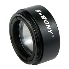 "Hot!!! 1.25"" Telescope 0.5 Focal Reducer Threads M28.0x0.6 for 31.75mm Eyepiece"