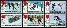 Togo 789-793,C165, CTO. Winter Olympic Games, Sapporo, 1971