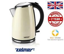 @ NEW Electric Kitchen ZELMER (BOSCH) Kettle CK1020 Cream boil rapid hot water @