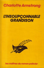 """Charlotte Armstrong : L'INSOUPCONNABLE GRANDISON - collection """"le Masque"""" n°1767"""