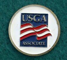 """RARE_ USGA Associate  1"""" Golf Ball Marker"""