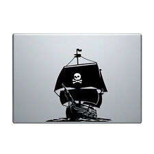 "Macbook Aufkleber Sticker Decal skin Air Pro 11"" 13"" 15"" 17"" pirat schiff boot"
