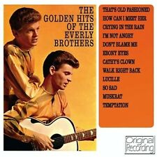 THE GOLDEN HITS OF THE EVERLY BROTHERS (NEW SEALED CD) ORIGINAL RECORDING