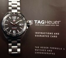 TAG Heuer Formula 1 WAZ1110.BA0875 Sports Diver F1 Full Set
