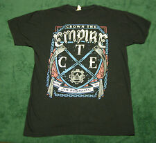 Crown the Empire Rise of the Runaways T-Shirt Black size L