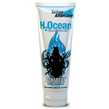 H2ocean Piercing Aftercare Aquatat Cam Wax Tattoo First Aid 1.75 Oz Ointment