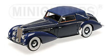 1939 DELAGE D8 120 CABRIOLET DARK BLUE LTD 130PCS 1/18 BY MINICHAMPS 107115132