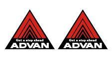 ADVAN decals x2, jdm ,drift, RWB, hellaflush, yokohama, civic, ae86