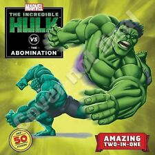 Hulk vs. Abomination / Hulk vs. Wolverine: Two-Books-In-One With Over 50 Sticker