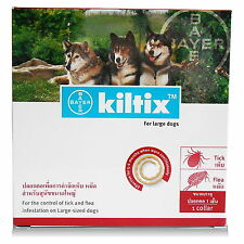 Kiltix Flea Tick Collar Bayer 70cm For Large Dog Over 20kg Control 5-6 Months