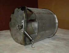 FOR YOUR BBQ GRILL: 2 lb. Capacity Coffee Roaster Drum + High Speed Motor + Rod