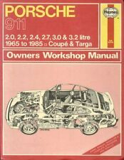 PORSCHE 911 2.0 2.2 2.4 2.7 3.0 3.2 COUPE TARGA CABRIO 1965 - 1985 REPAIR MANUAL