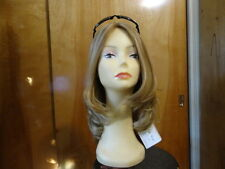 European Multidirectional  Wig Sheitel Light Brown& Highlights 16/10 STREAKS