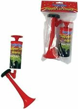 HAND HELD PUMP ACTION PARTY FOOTBALL FESTIVAL AIR FOG HORN BLOWER WON'T RUN OUT