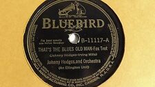 Johnny Hodges -  78rpm single 10-inch - Bluebird #B-11117 Good Queen Bees