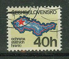 Tschechoslowakei Briefmarken 1981 Grenzschutz  Mi.Nr.2626