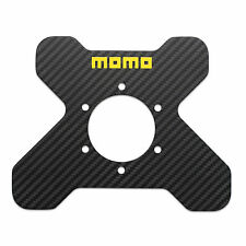 MOMO Steering Wheel Real Carbon Fiber Four Button X Plate - Part # CARBONPLATE