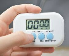 Digital LCD Count Down Up Kitchen Cooking Alarm Timer Electronic Clock Magnetic