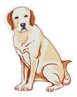 NEW GANZ DOG BLONDE YELLOW LABRADOR RETRIEVER SCREEN DOOR SAVER