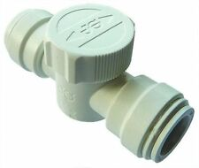 John Guest Speedfit 15mm Emergency Shut Off Tap 15ESOT Isolating Valve