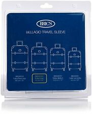 Brics Luggage Bac00937 Bellagio 30 Inch Spinner Transparent Cover  Clear  One