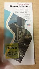 Chicago And Vicinity: Rand McNally Map (M15)