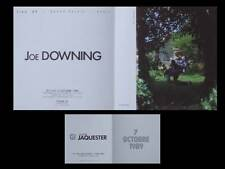 JOE DOWNING - CARTON INVITATION EXPOSITION - 1989 - GALERIE JAQUESTER