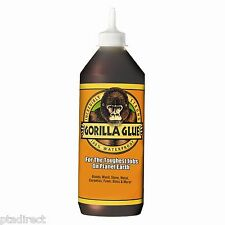 1 Ltr Litre Gorilla GLUE super tough waterproof, for wood, stone, metal, ceramic