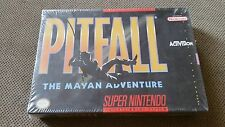 Pitfall: The Mayan Adventure  (Super NES, 1994) Brand New Sealed Box Rare