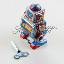 Robot Toy Good Wind Up Classic Retro Lovely Cute Children Boys Girls Baby M