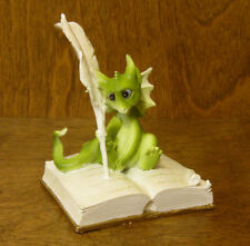 Top Collection Enchanted Story Fairy Garden #4039  DRAGON WRITING, Mint/Box