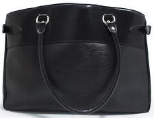 Louis Vuitton EPI PASSY Bag Tasche Shoulder Schultertasche Schwarz Noir Black