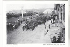 "*Postcard-""Canadian Soldiers"" -1917-- *Milo, Brownville. & Lake View, ME"