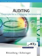 Auditing: Concepts for a Changing Environment by Rittenberg, Larry E., Schwiege